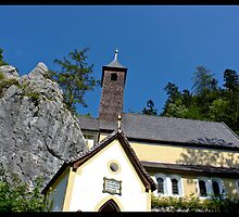 Church on the rock by Helkramu