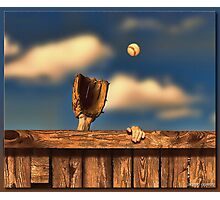 The Home Run Photographic Print