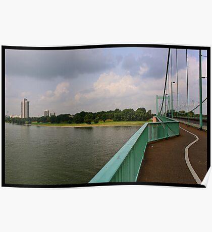 Mühleimer Brücke Poster