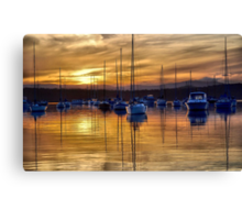 Sitting Peacefully Canvas Print
