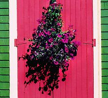 """Pink Door"" Mahone bay NS by jeswierz"