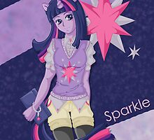 Twilight Sparkle Gijinka  by boundbyribbon