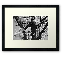 As Your Lips Touched My Cheek Framed Print