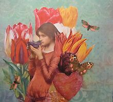 The Tulips Stand Arrayed by Kanchan Mahon