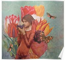 The Tulips Stand Arrayed Poster