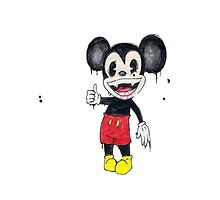 Mickey Mouse by thatchikpia