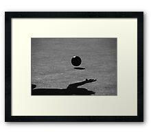 Lawn Bowler Framed Print
