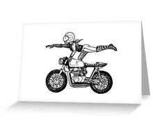 Women Who Ride - Superwoman Greeting Card