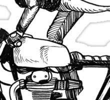 Women Who Ride - Superwoman Sticker