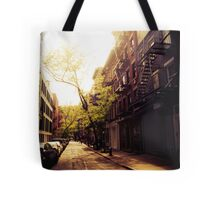 Sunlit Street - Greenwich Village - New York City Tote Bag