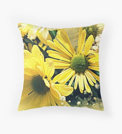 Bright Gems of Earth Throw Pillow