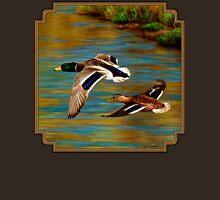 Mallard Ducks in Flight T-Shirt