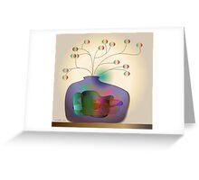Jug and berries Greeting Card
