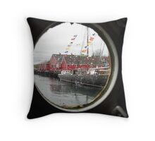 Lunnenburg Nova Scotia Throw Pillow