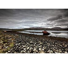 Shipwrecked on Loch Etive Photographic Print