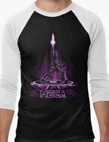 MEGA (TRON) Men's Baseball ¾ T-Shirt