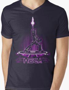 MEGA (TRON) Mens V-Neck T-Shirt