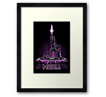 MEGA (TRON) Framed Print