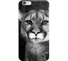 Puma staring at you on your iphone case iPhone Case/Skin