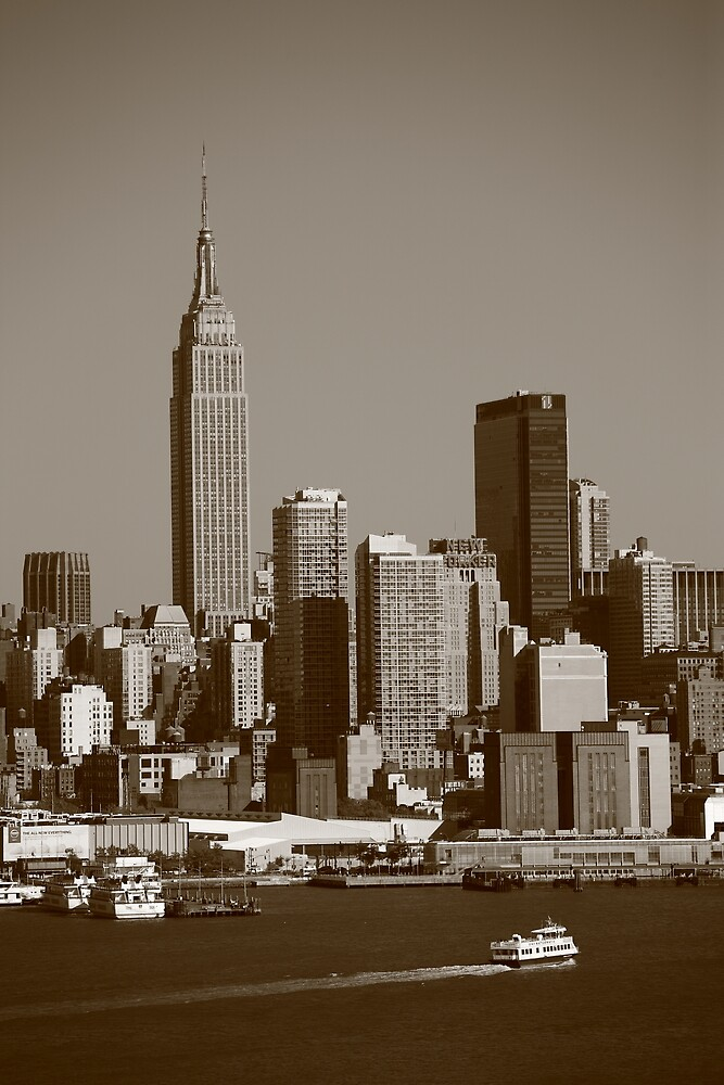 New York City Skyline by Frank Romeo