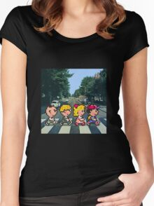 Ness' Road Women's Fitted Scoop T-Shirt