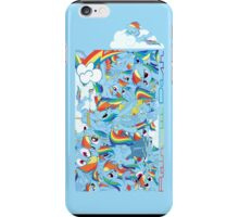 The many faces of Rainbow Dash (I-Phone) iPhone Case/Skin