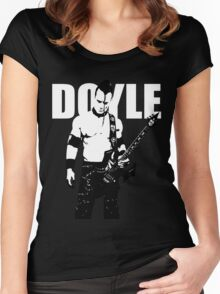 DOYLE Women's Fitted Scoop T-Shirt