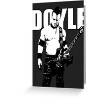 DOYLE Greeting Card
