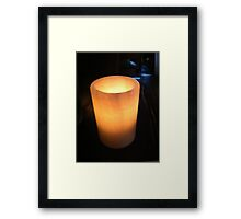Lightness of hope Framed Print