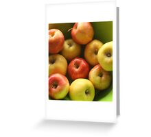 Ten Apples (still life) Greeting Card