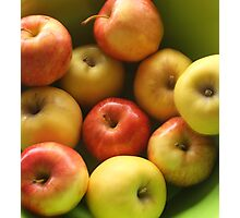 Ten Apples (still life) Photographic Print