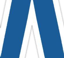 Fly The W - Cubs Playoffs Sticker