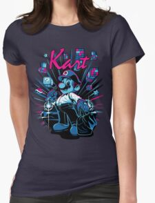 Kart Womens Fitted T-Shirt