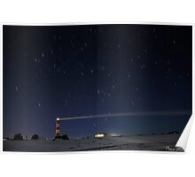 Point Moore Lighthouse ~ Geraldton Poster