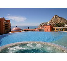View from the Pool, Cabo San Lucas Photographic Print