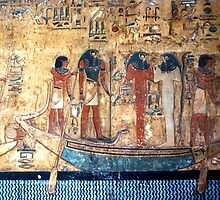 Tomb of Seti I, Egypt by Carole-Anne