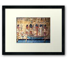 Tomb of Seti I, Egypt Framed Print