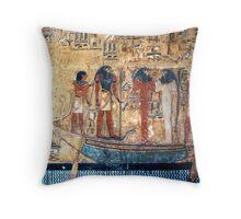Tomb of Seti I, Egypt Throw Pillow