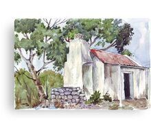 Fisherman's Cottage in South Australia Canvas Print