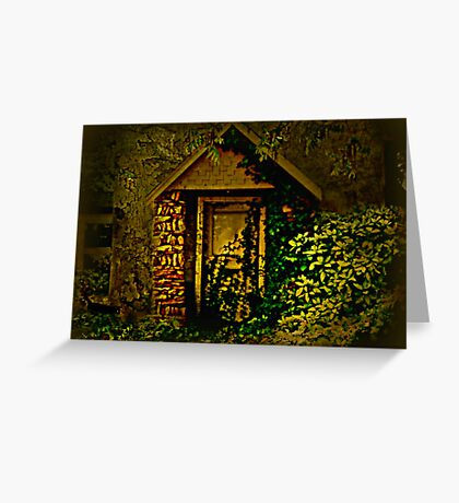 The Side Door Greeting Card