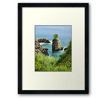 La Grotta - island of Corfu Framed Print