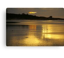 diamond island, redbill beach. eastcoast, tasmania Canvas Print