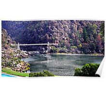 Autumn In Cataract Gorge Poster