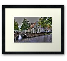 Nicest City in Holland: Delft Framed Print