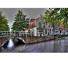 Nicest City in Holland: Delft Photographic Print