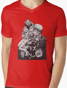thugs on a bike Mens V-Neck T-Shirt