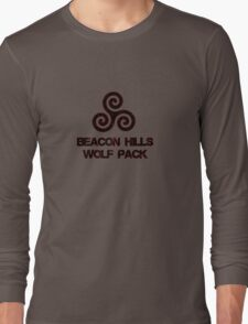 Wolf Pack (red) Long Sleeve T-Shirt