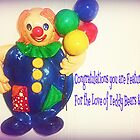 This lovely clown was a gift and brightens my day. by EdsMum