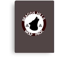 Beacon Hills Wolf Pack Canvas Print