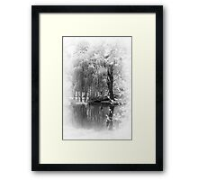 Willow Weep for Me Framed Print